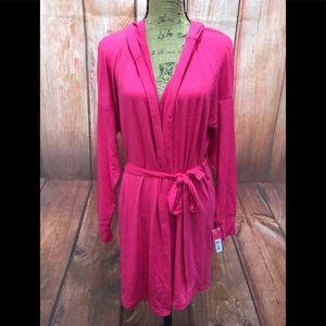 New xhilaration size l/xl pink robe